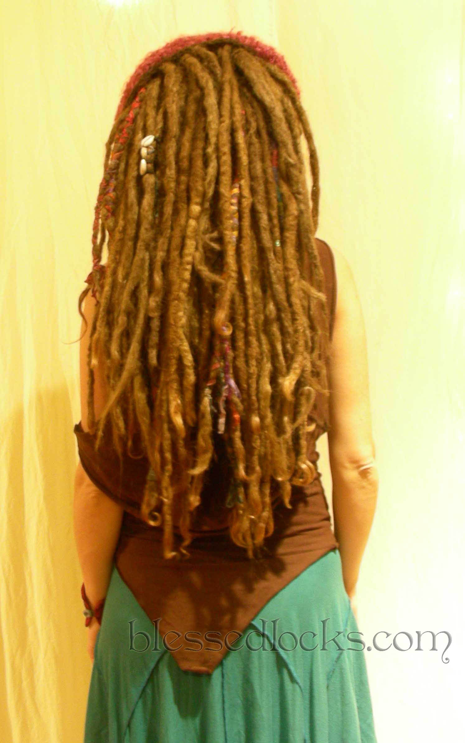 Blessed Locks Custom Dreadlock Extensions And Falls From